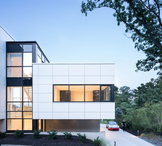 Syncline House by Omar Gandhi Architect in Halifax, Canada
