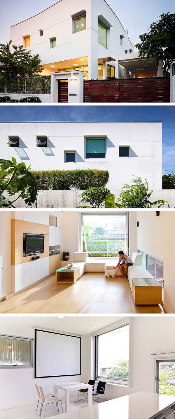 T House by EKAR Architects in Nonthaburi, Thailand