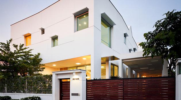 T-House by EKAR Architects in Nonthaburi, Thailand