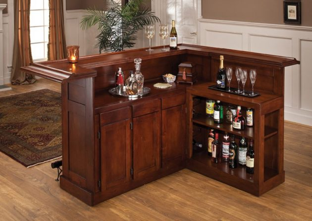 17 really cool home bar designs that are worth seeing. Black Bedroom Furniture Sets. Home Design Ideas