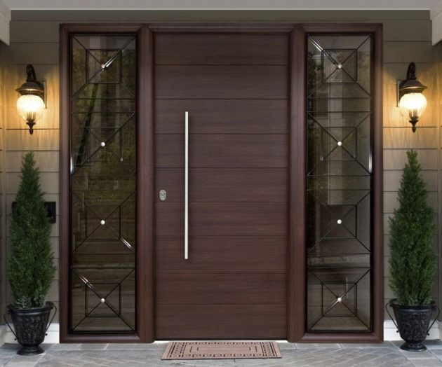 16 Charming Entrance Door Designs To Help You In Your Choice