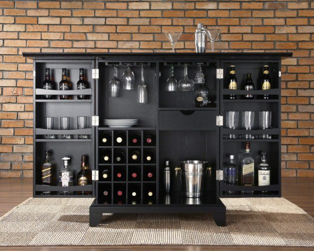 17 Really Cool Home Bar Designs That Are Worth Seeing