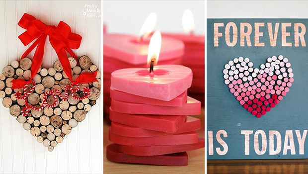 15 Adorable DIY Valentine's Decor Ideas You Should Craft