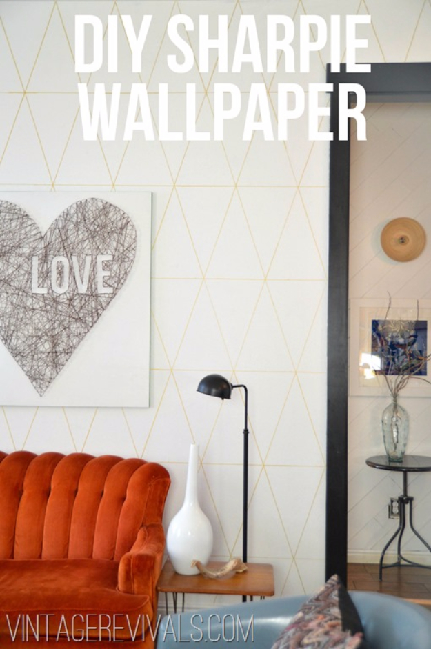 15 Awesome Sharpie Crafts To Update Your Home Decor With
