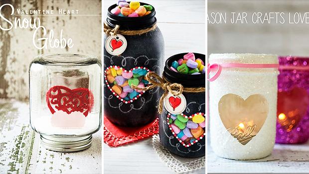 15 Charming Diy Mason Jar Gifts For Valentine S Day