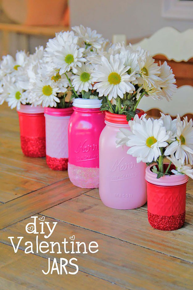 15 Charming Diy Mason Jar Gifts For Valentine S Day