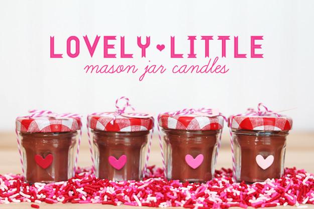 15 Charming DIY Mason Jar Gifts For Valentine's Day