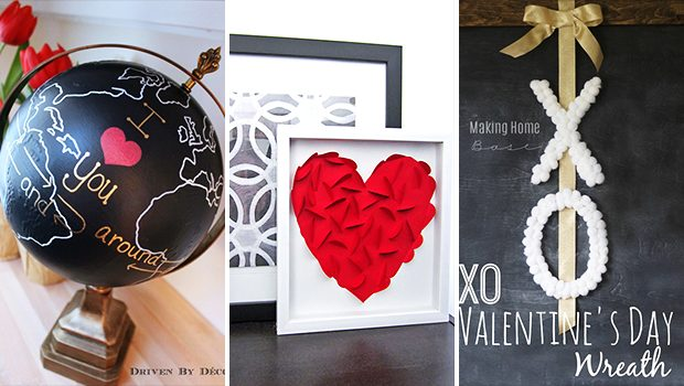 15 Fab DIY Valentine's Decor Projects That Will Help You Create A Lovely Mood