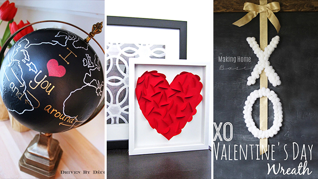 15 Fab DIY Valentine's Decor Projects That Will Help You ...