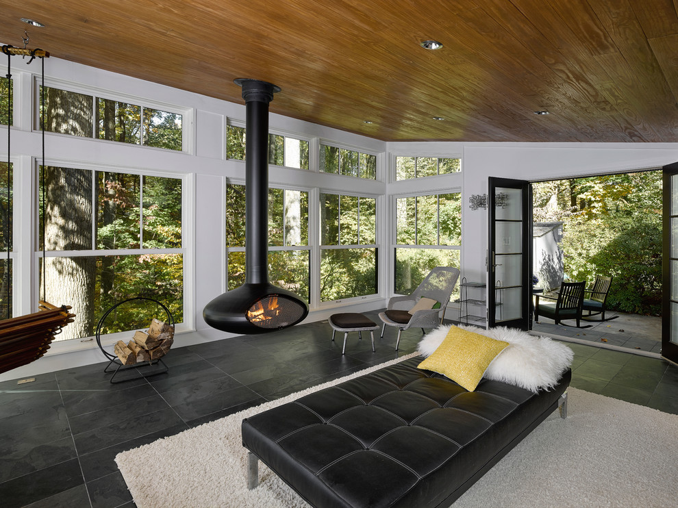 16 Irresistible Modern Sunroom Designs That Will Secure ...