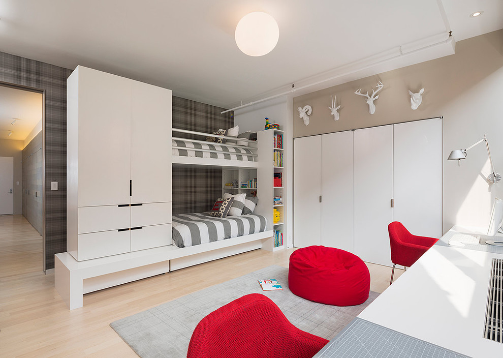 16 Minimalist Modern Kids' Room Designs That Are Anything But Bare