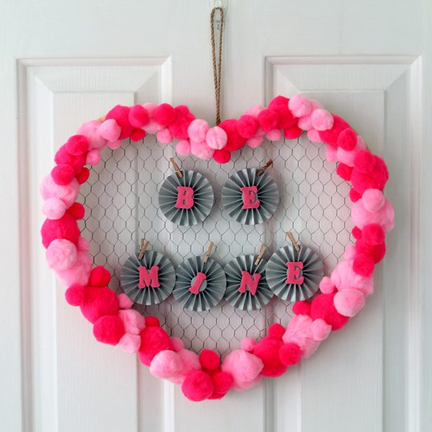 19 Inexpensive DIY Decorations To Style Up Your Home For Valentine's Day