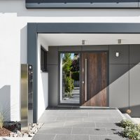 17 Appealing Modern Entrance Designs That Will Tempt You