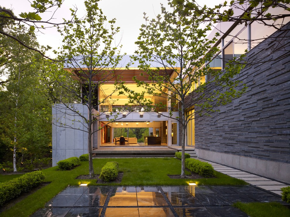 18 Startling Modern Landscape Designs Your Backyard ... on Backyard Landscape  id=61450
