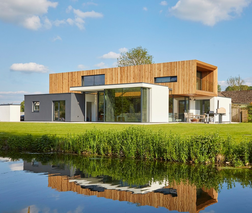 Modern Home Design Ideas Exterior: 20 Remarkable Modern Home Exterior Designs That Will Steal