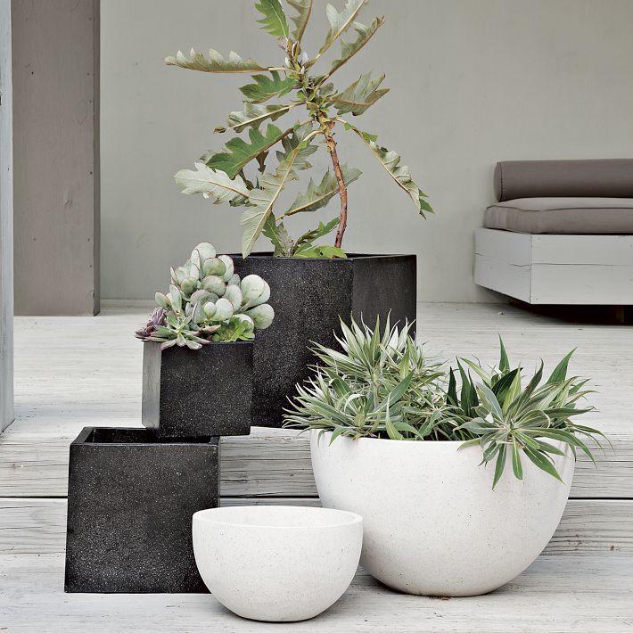 White Square Outdoor Planters Uk Designs