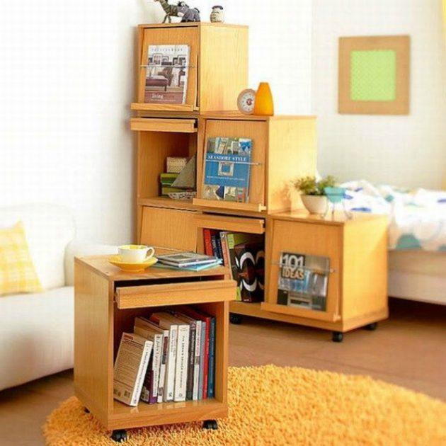 16 Attractive Multifunctional Bookshelves To Enhance Your Interior Design