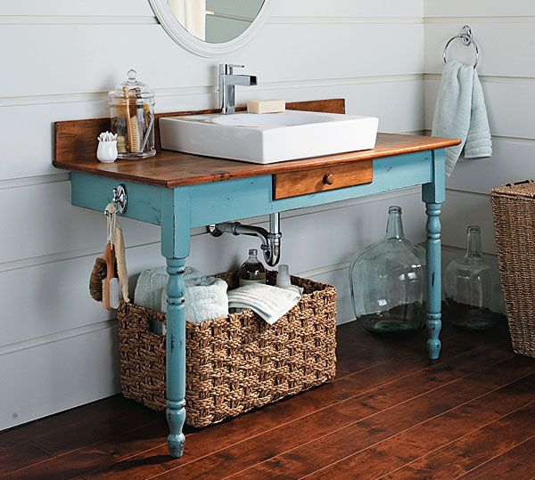 16 Really Inspiring Ways To Decorate The Bathroom With Upcycled Items
