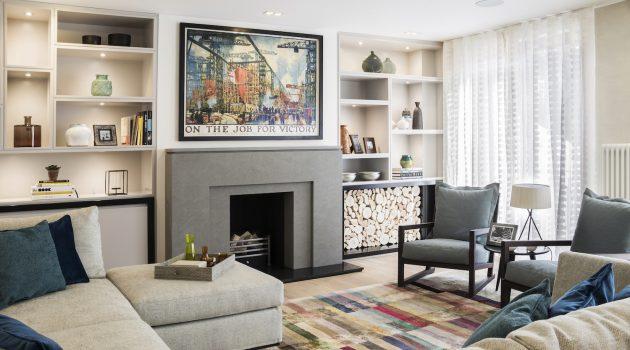 Highgate Hill Townhouse Project by LLI Design in London, UK