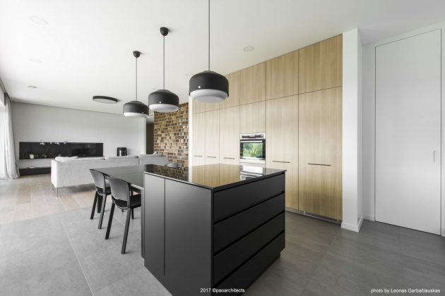 Black Box House by Pao Architects in Vilnius, Lithuania