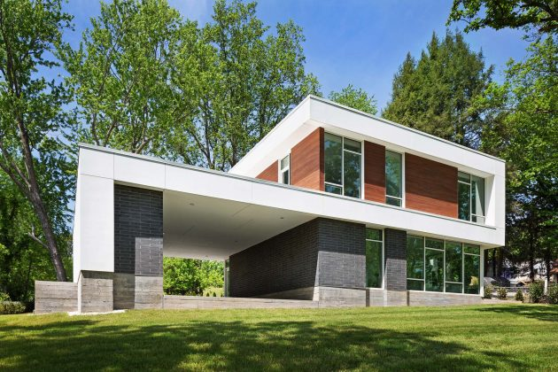 Boetger Residence by BarberMcMurry Architects in Knoxville ...