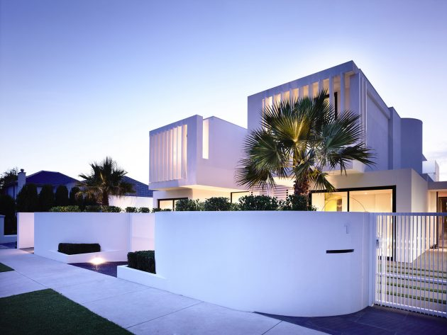 Brighton Townhouses by Martin Friedrich Architects in Victoria, Australia