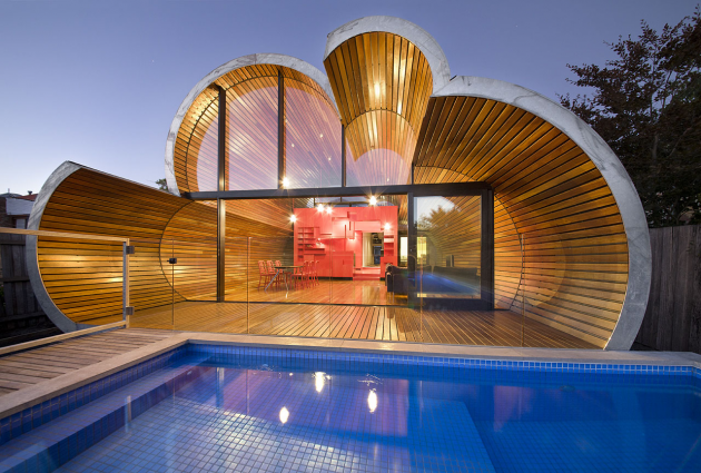 Cloud House by McBride Charles Ryan in Melbourne, Australia