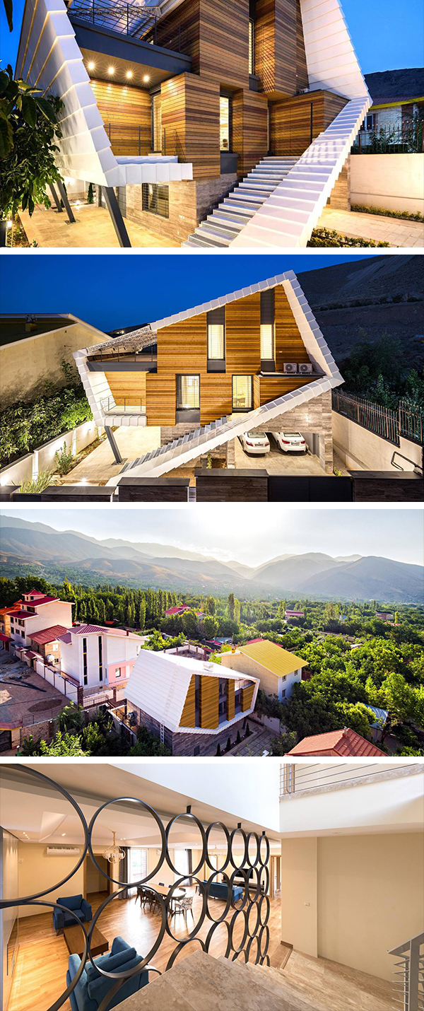 Damavand Villa by Shirazian Studio in Iran