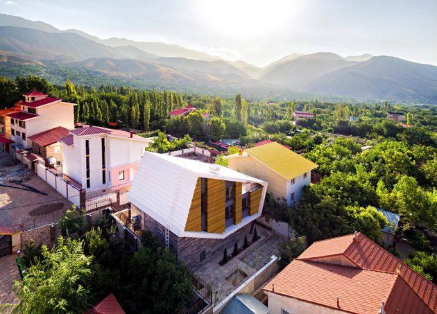 Damavand Villa by Shirazian Studio in Iran
