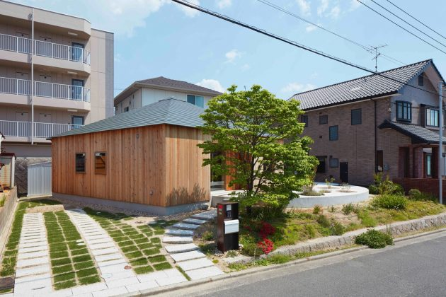 House in Mukainada by FujiwaraMuro Architects in Hiroshima, Japan