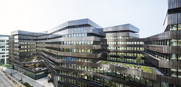 Lot o7 - Contemporary Offices in the Batignolles district of Paris, France