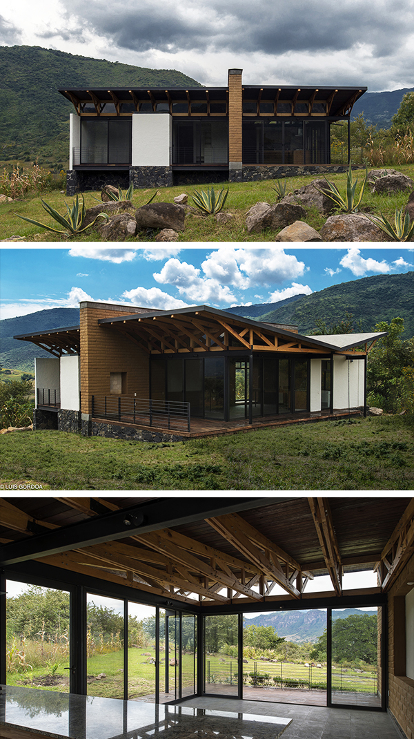 Malinalco House by Arquitectura Alternativa in Malinalco, Mexico