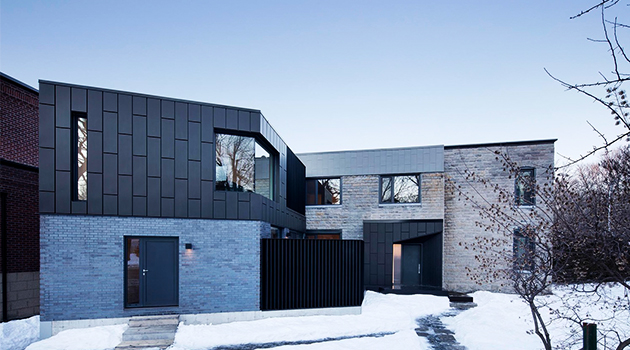McCulloch Residence by NatureHumaine in Montreal, Canada