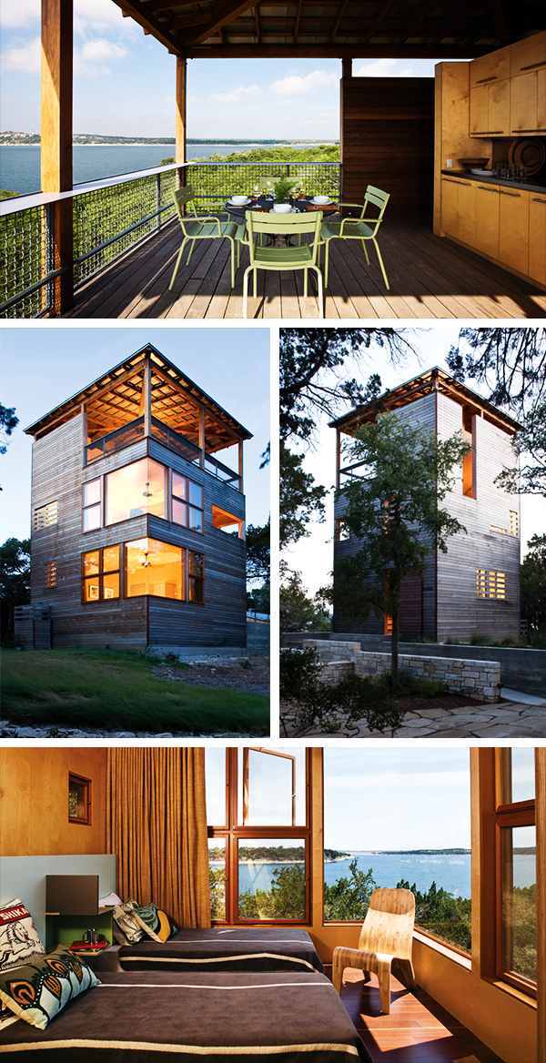 Tower House By Andersson Wise Architects In Austin Texas - Tower-house-in-texas-by-andersson-wise-architects