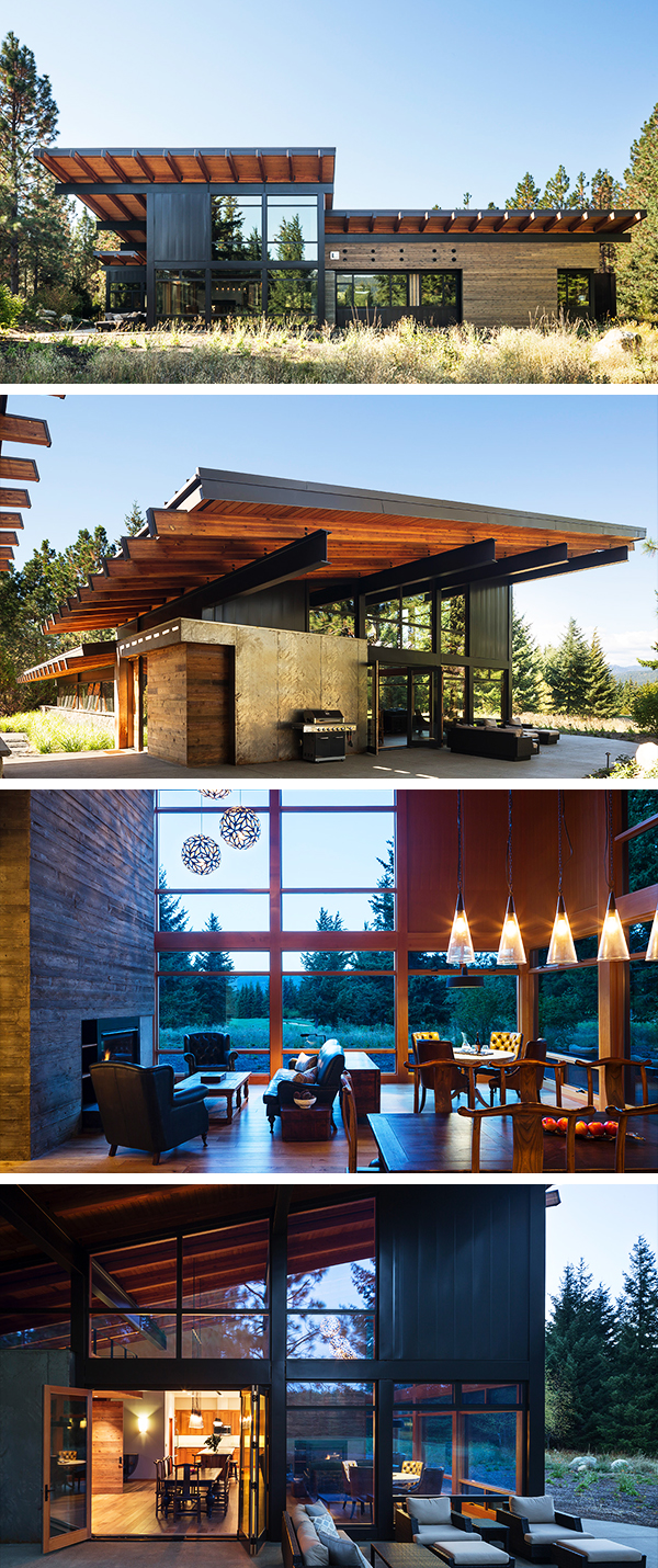 Tumble Creek Cabin by Coates Design Architects in Washington, USA