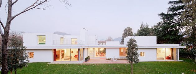 Villa G by SCAPE in Sorengo, Switzerland