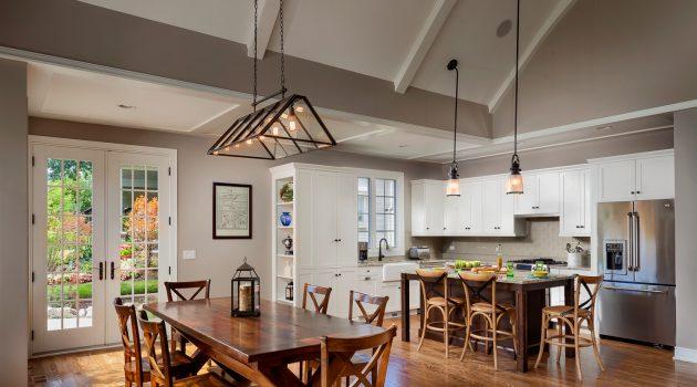 7 Luxurious Craftsman Inspired Kitchen Designs