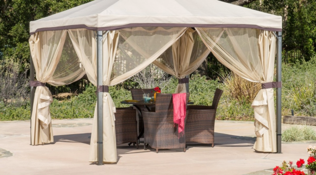 Gazebos – from Ancient Times to Present Day