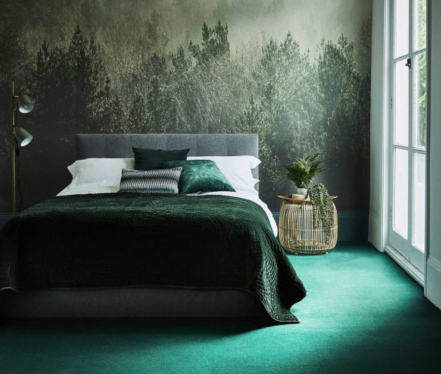 15 Magnificent Green Bedroom Designs That Look So Inviting