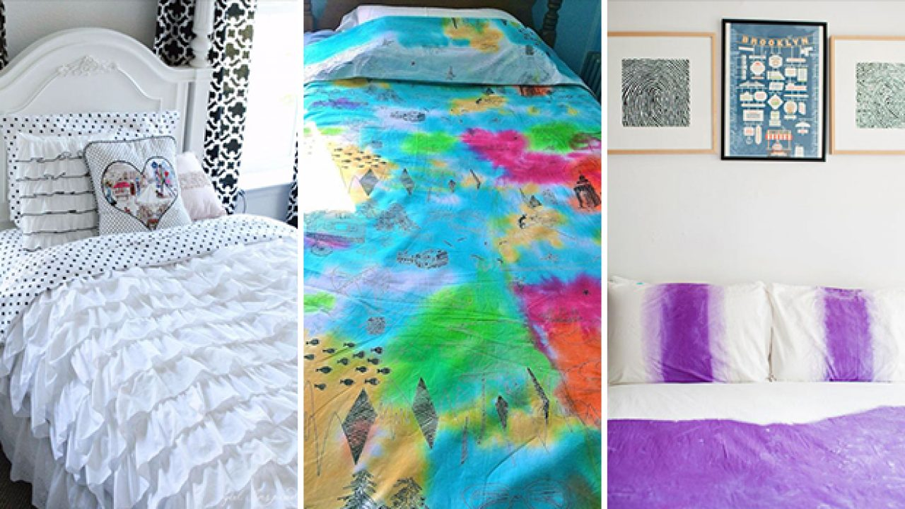 15 Chic Diy Duvet Cover Ideas You Won T Find In The Stores