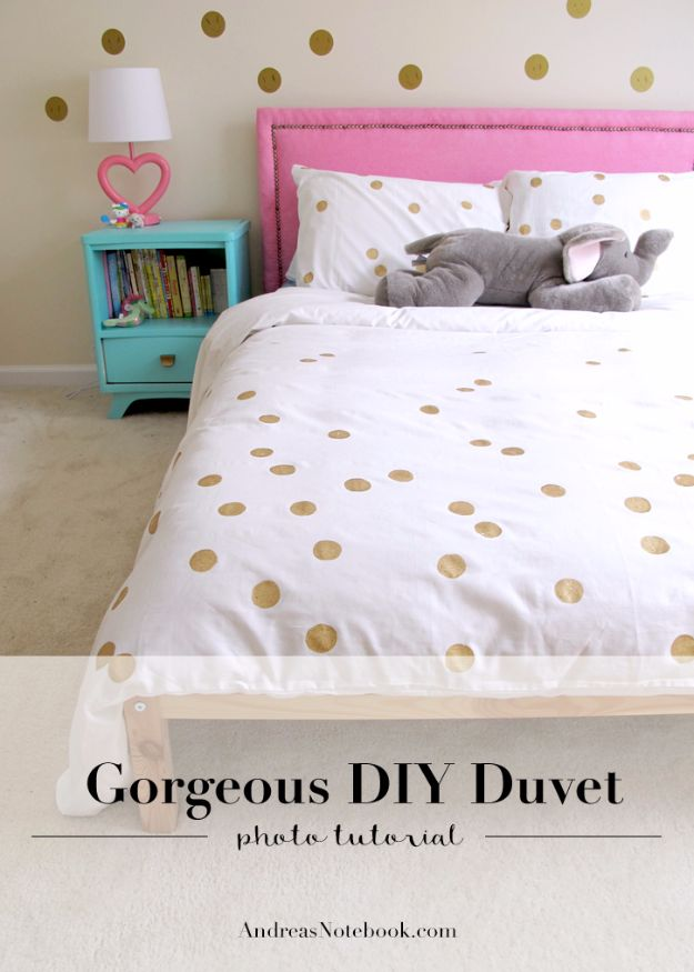 15 Chic DIY Duvet Cover Ideas You Won't