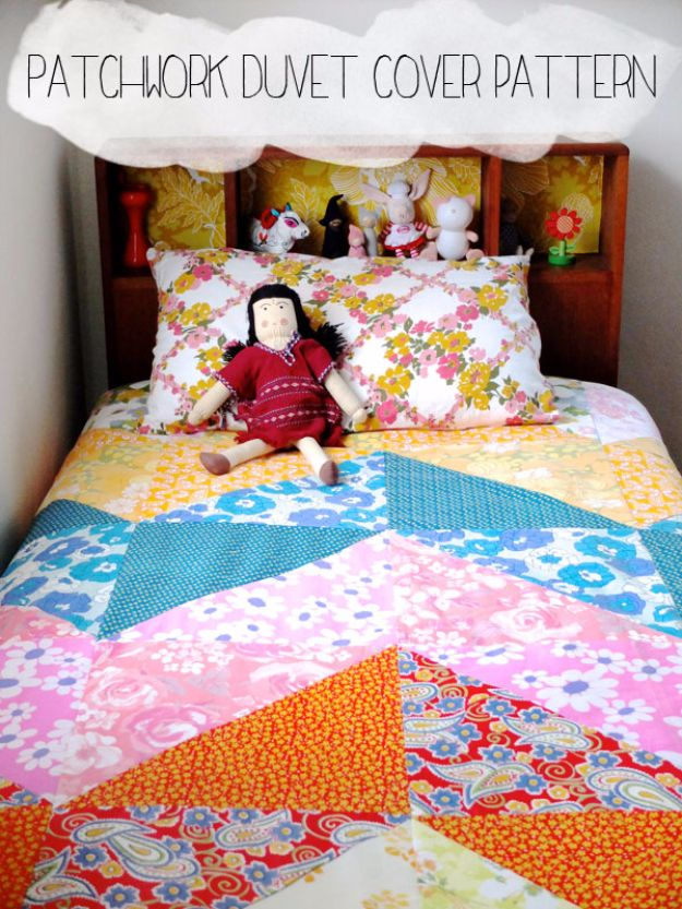15 Chic DIY Duvet Cover Ideas You Won't Find In The Stores