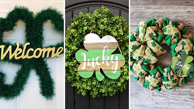 15 Fabulous Handmade St Patrick's Day Wreath Ideas