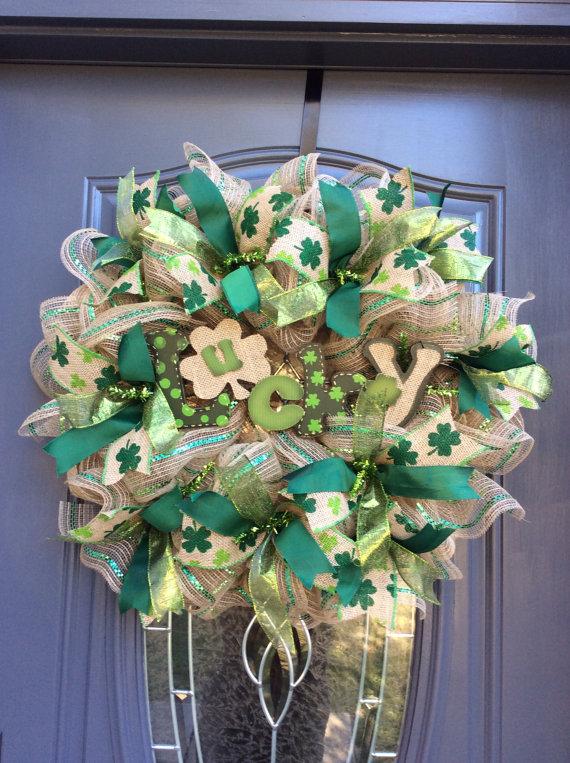 15 Fabulous Handmade St Patrick's Day Wreath Ideas