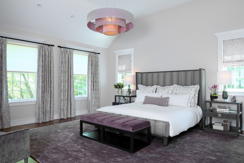 15 Radiant Transitional Bedroom Interiors That Will Captivate You