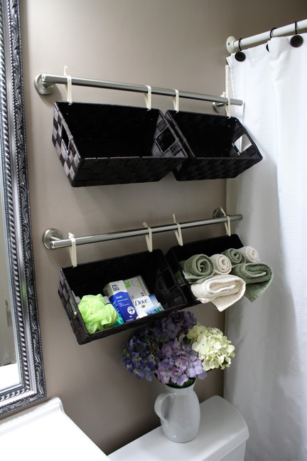16 Awesome DIY Bathroom Storage Hacks Every Bathroom Needs