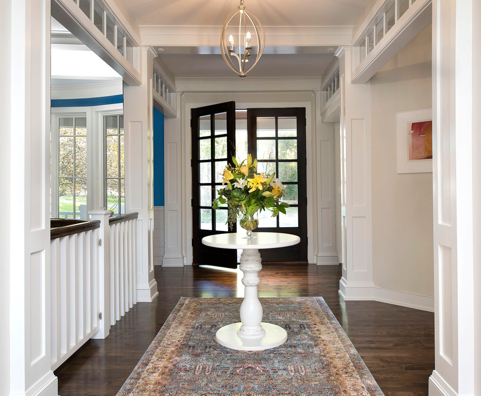 16 Comfortable Transitional Entry Hall Designs That Will Welcome You Inside