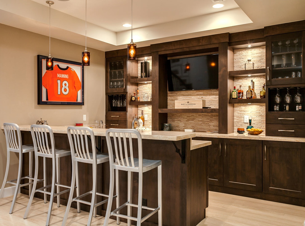 16 Stunning Transitional Home Bar Ideas You Should Consider