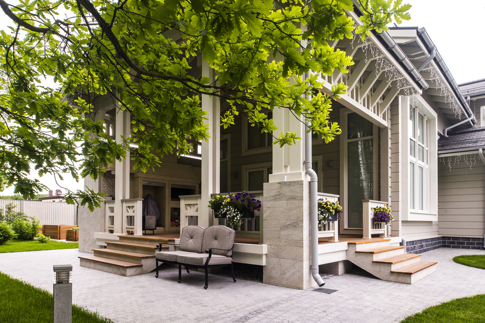 17 Alluring Transitional Porch Designs Perfect For This Spring
