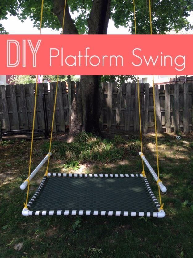 17 Brilliant DIY Swing Ideas You Need To Have Before Spring